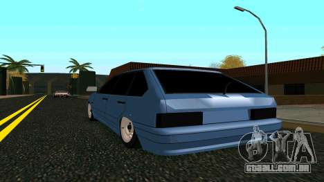 VAZ 2114 para vista lateral GTA San Andreas