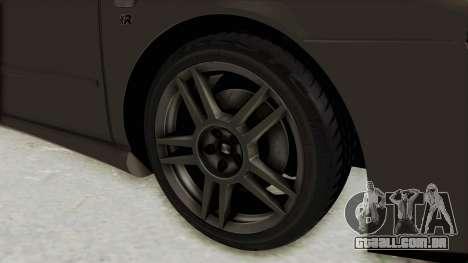 Seat Leon CupraR 2003 para GTA San Andreas vista traseira
