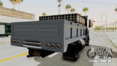 Chevrolet G30 para GTA San Andreas esquerda vista
