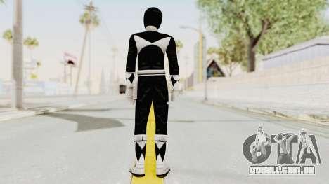 Mighty Morphin Power Rangers - Black para GTA San Andreas terceira tela