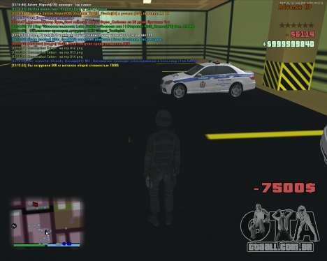 CLEO Fakearmy para GTA San Andreas terceira tela