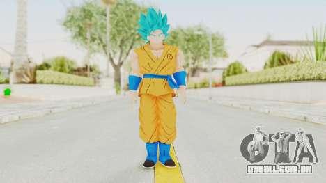 Dragon Ball Xenoverse Goku SSGSS V2.0 para GTA San Andreas segunda tela
