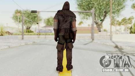 Assassins Creed Brotherhood - Executioner para GTA San Andreas terceira tela