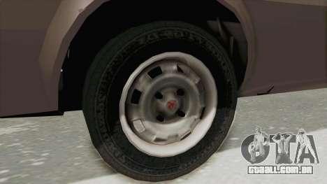 Vauxhall Cavalier MK1 Coupe para GTA San Andreas vista traseira