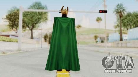 Marvel Future Fight - Loki para GTA San Andreas terceira tela