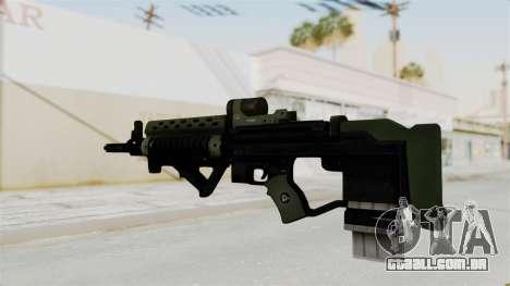 Killzone - M82 Assault Rifle para GTA San Andreas segunda tela