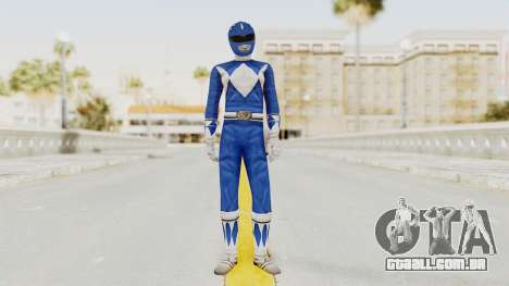 Mighty Morphin Power Rangers - Blue para GTA San Andreas segunda tela