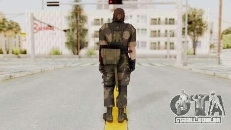 MGSV The Phantom Pain Venom Snake No Eyepatch v4 para GTA San Andreas terceira tela