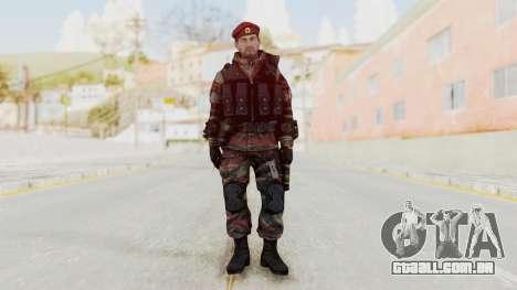 Battery Online Russian Soldier 1 v2 para GTA San Andreas segunda tela