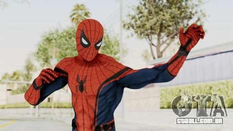 Captain America Civil War - Spider-Man para GTA San Andreas