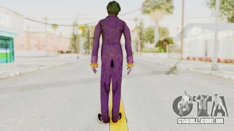 Batman Arkham Knight - Joker para GTA San Andreas terceira tela