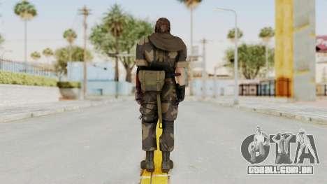 MGSV The Phantom Pain Venom Snake Sc No Patch v4 para GTA San Andreas terceira tela