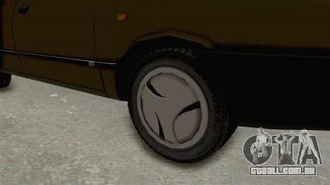 Dacia 1310 Berlina 2001 Stock para GTA San Andreas vista traseira