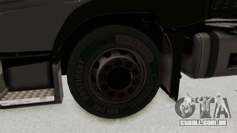 Volvo FM Euro 6 6x4 v1.0 para GTA San Andreas vista traseira
