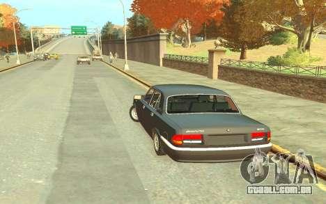 GAZ 3110 para GTA 4 traseira esquerda vista