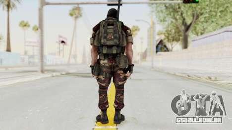 Battery Online Russian Soldier 3 v2 para GTA San Andreas terceira tela