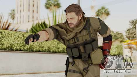 MGSV The Phantom Pain Venom Snake Sc No Patch v1 para GTA San Andreas