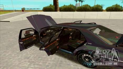 Mercedez-Benz W140 para GTA San Andreas vista direita