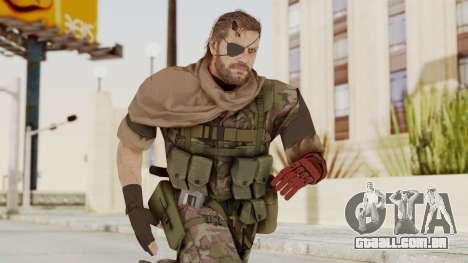 MGSV The Phantom Pain Venom Snake Scarf v6 para GTA San Andreas