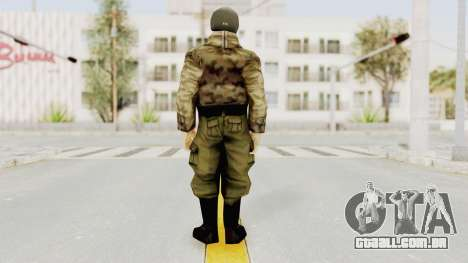 Russian Solider 3 from Freedom Fighters para GTA San Andreas terceira tela