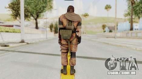 MGSV The Phantom Pain Venom Snake Sc No Patch v5 para GTA San Andreas terceira tela