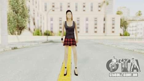 New Skin Michelle para GTA San Andreas segunda tela