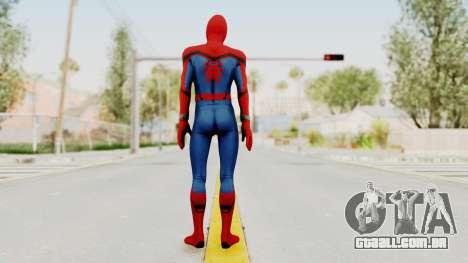 Spider-Man Civil War para GTA San Andreas terceira tela