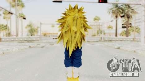 Dragon Ball Xenoverse Vegito SSJ3 para GTA San Andreas terceira tela