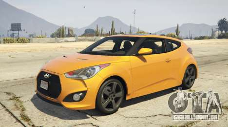 Hyundai Veloster [Replace] 1.2 para GTA 5