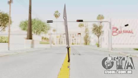 Saints Row 3 - Deckers Sword (Saints Style) para GTA San Andreas segunda tela