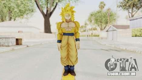 Dragon Ball Xenoverse Goku SSJ4 Golden para GTA San Andreas segunda tela