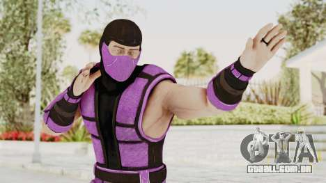 Mortal Kombat X Klassic Rain para GTA San Andreas