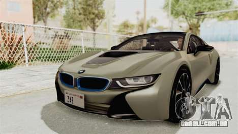 BMW i8-VS 2015 para GTA San Andreas