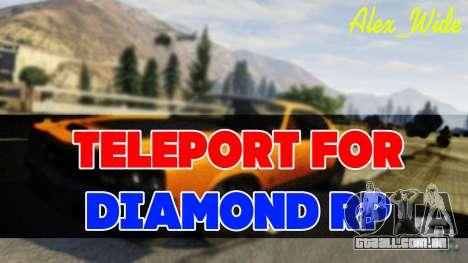Teleport para Diamante RP para GTA San Andreas
