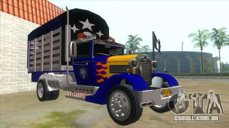 Ford AA Modified para GTA San Andreas vista traseira