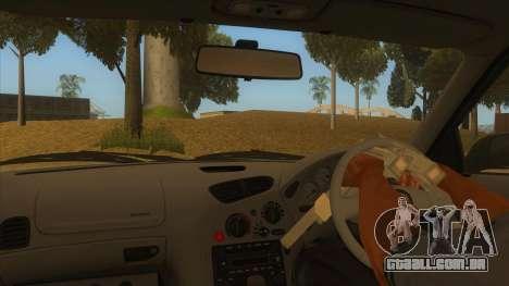 Mazda RX7 S Spirit R para GTA San Andreas vista interior