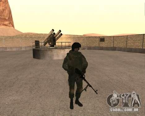 Forças especiais da Federação russa para GTA San Andreas segunda tela