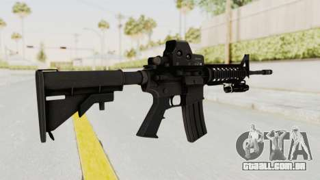 AR-15 with Eotech 552 and Flashlight para GTA San Andreas segunda tela