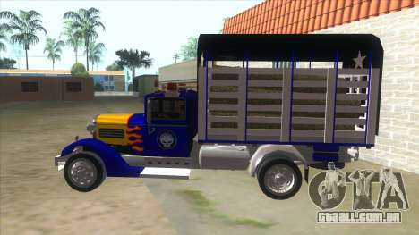 Ford AA Modified para GTA San Andreas esquerda vista