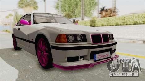 BMW M3 E36 Beauty para GTA San Andreas