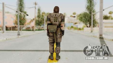 MGSV The Phantom Pain Venom Snake Wetwork para GTA San Andreas terceira tela