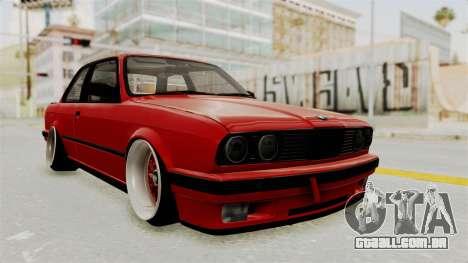 BMW M3 E30 Camber Low para GTA San Andreas