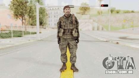 COD BO SOG Reznov v1 para GTA San Andreas segunda tela