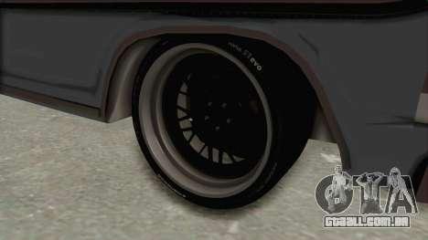 Ford F-150 Black Whells Edition para GTA San Andreas vista traseira