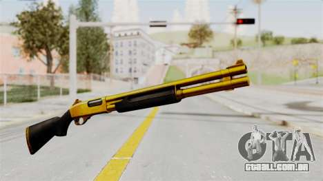 Remington 870 Gold para GTA San Andreas segunda tela