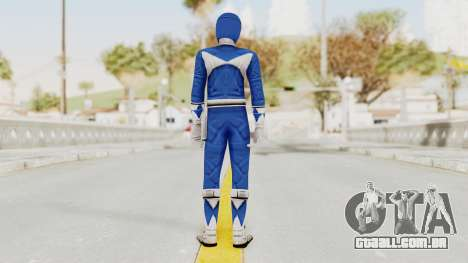Mighty Morphin Power Rangers - Blue para GTA San Andreas terceira tela