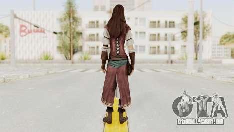 Assassins Creed Brotherhood - Courtesan para GTA San Andreas terceira tela