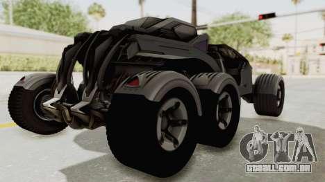 ADOM P3 Beta para GTA San Andreas traseira esquerda vista
