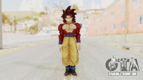 Dragon Ball Xenoverse Goku SSJ4 para GTA San Andreas segunda tela