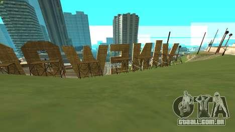 New Vinewood Russia para GTA San Andreas segunda tela
